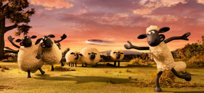 Resultado de imagen de La oveja Shaun. La película: Granjaguedón de Will Becher y Richard Phelan